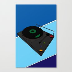 Turn Table Canvas Print