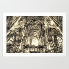 York Minster Vintage Art Print