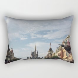 The Happiest Place Rectangular Pillow