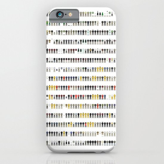 Walter White's Wardrobe - Complete Series iPhone & iPod Case