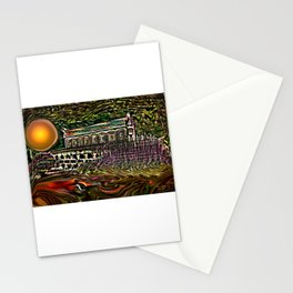House by the lake Stationery Cards