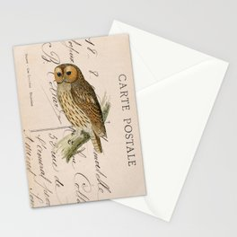 Owl postcard Stationery Cards