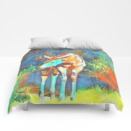 Animal ArtStudio 419 Okapi Comforters