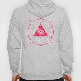 Evil Eye Mandala – Pink Hoody