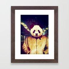 A Real Hero Framed Art Print