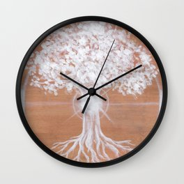 Dreaming of Sundogs Wall Clock