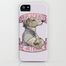 Pups against the Patriarchy  Slim Case iPhone (5, 5s)