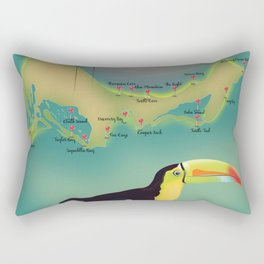 Providenciales turks and caicos Rectangular Pillow