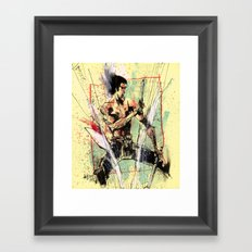 THE DRAGON Framed Art Print