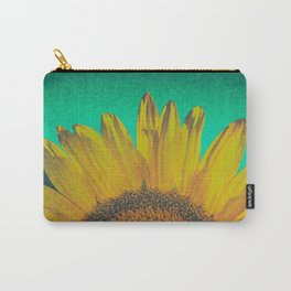 Sunflower vintage Carry-All Pouch
