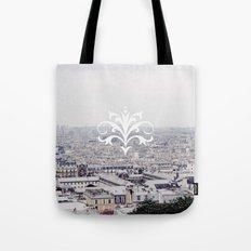 WINTER IN PARIS Tote Bag