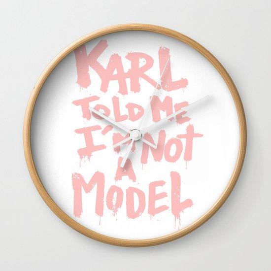 Karl told me... Wall Clock
