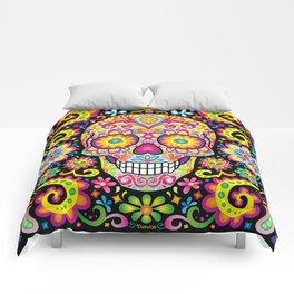 Sugar Skull Art (Spark) Comforters