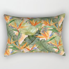 Birds of Paradise Rectangular Pillow