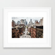 New york City USA Framed Art Print