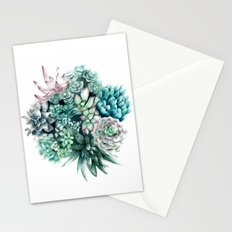 Cactus circle Stationery Cards