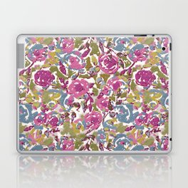 Painted Abstract Florals Laptop & iPad Skin