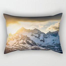 Frozen in Time - Switzerland  (RR83) Rectangular Pillow