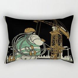 Tower Crane A WayOf Life Rectangular Pillow