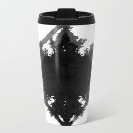 Rorschach    Metal Travel Mug