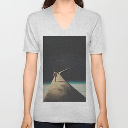 We Chose This Road My Dear Unisex V-Neck
