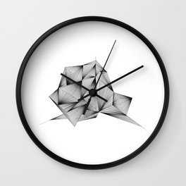 Structure (XYZ) Wall Clock