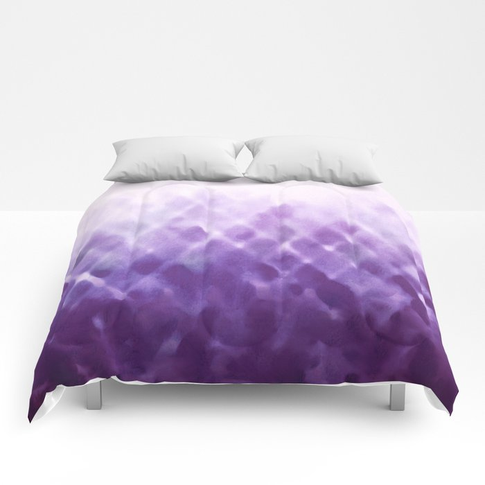 Diamond Fade in Violet Comforters