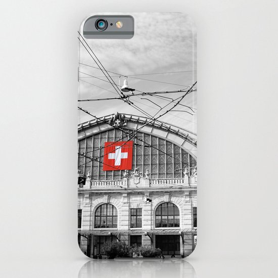 Swiss Flag iPhone & iPod Case