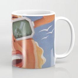 poster vintage Atlantic-City-Pennsylvania-Railroad Sascha Maurer 1940 Coffee Mug
