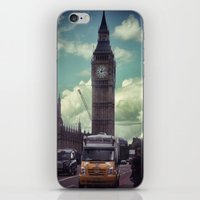 ben giles iPhone & iPod Skins featuring Ben by Christine Workman