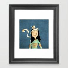 Marcela Framed Art Print