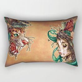 BEAST Rectangular Pillow