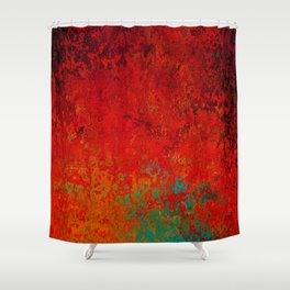 Figuratively Speaking, Abstract Art Shower Curtain