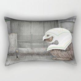 Beast and Girl Rectangular Pillow