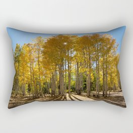 Autumn Blaze outside of Crested Butte, Colorado for #Society6 Rectangular Pillow