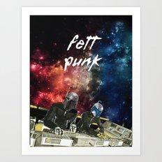 Fett Punk Art Print
