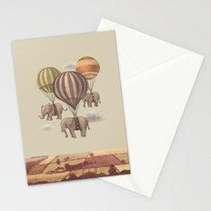 Flight of the Elephants  Stationery Cards