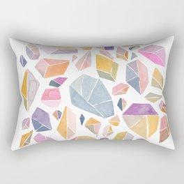 Geometric crystals Rectangular Pillow