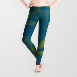 Marijuana Cannabis Weed Pot Indie Style Leggings