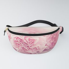 Pale Pink Carnations 4 Fanny Pack