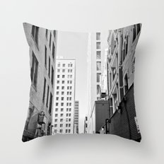 I Don't Care Where We Are, I'm In The Right Car Throw Pillow