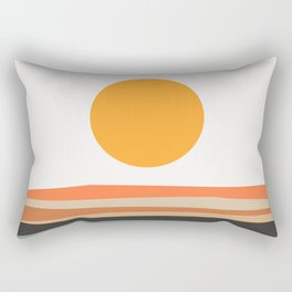 Abstract Landscape 10A Rectangular Pillow