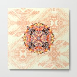 Chakra Mandala Metal Print