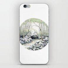 Crop circle 01 iPhone & iPod Skin