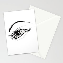 Aeon Flux Stationery Cards