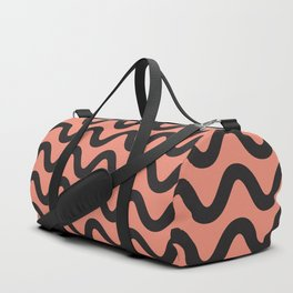Coral Ripple Duffle Bag