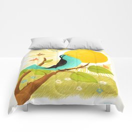 Early To Rise Comforters