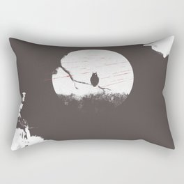 OWL ON THE TREE- BUBO² Rectangular Pillow