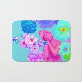 Pink Buddha Bath Mat