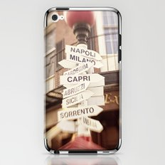 Lead me to Italy iPhone & iPod Skin